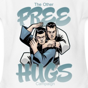 Free Hugs - Short Sleeve Baby Bodysuit