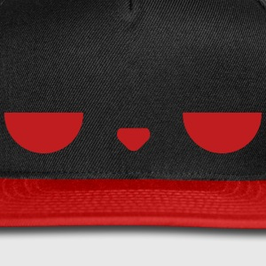 Displeased Cap (Red) - Snap-back Baseball Cap
