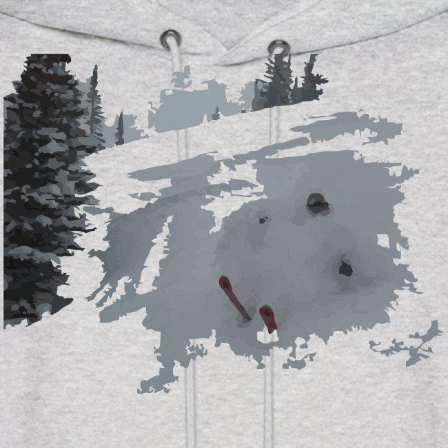 Powder Skier Hoodie