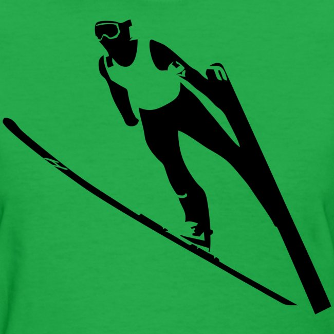 Ski Jumper T-Shirt - Women's