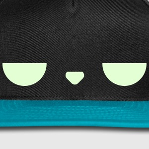 Displeased Cap (LightBlue) - Snap-back Baseball Cap