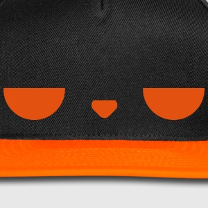 Displeased cap (Orange) - Snap-back Baseball Cap