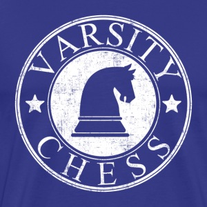 Varsity Chess T-Shirts - Men's Premium T-Shirt