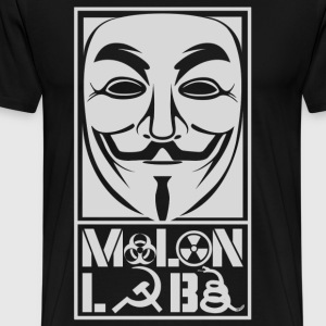 Molon Labe Anonymous Shirt  - Men's Premium T-Shirt