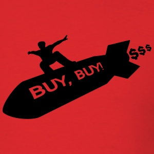 buy buy rocket rider shirt - Men's T-Shirt