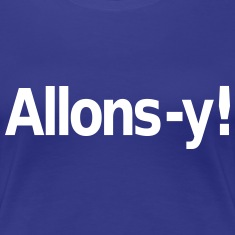 Allons-y Women's T-Shirts