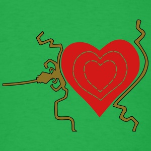 Grinch heart, three sizes T-Shirts - Men's T-Shirt