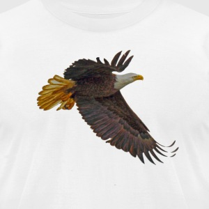 Flying Mystical Eagle III - Men's T-Shirt by American Apparel