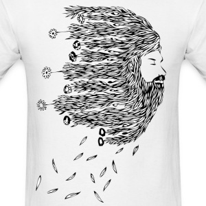 bearded willow - Men's T-Shirt