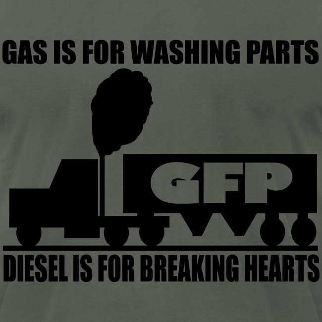 Gas is for washing parts