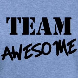 Team Awesome Long Sleeve Shirts - Women's Wideneck Sweatshirt