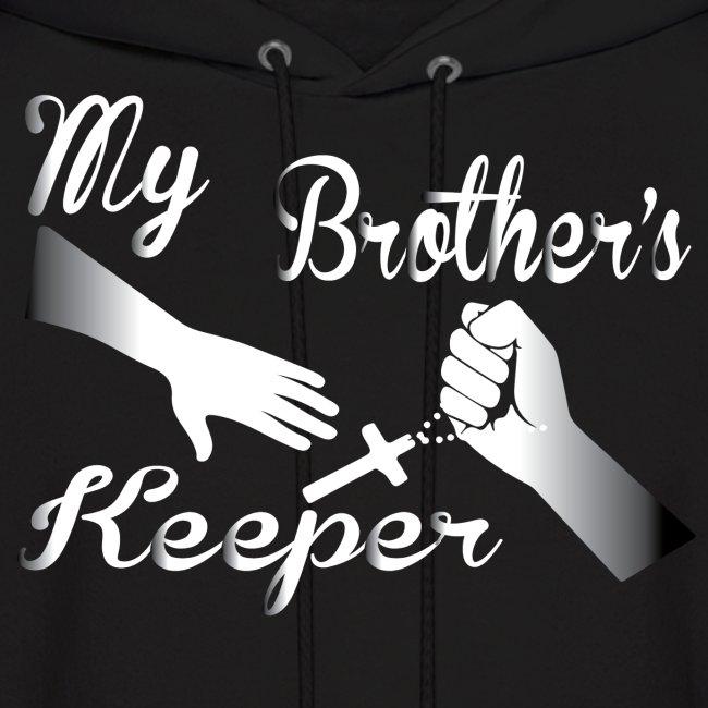 In Jesus Name Christian Apparel My Brothers Keeper Hoodie 2 Mens