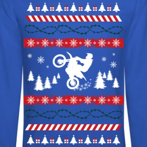 Ugly Christmas Motocross Long Sleeve Shirts - Crewneck Sweatshirt