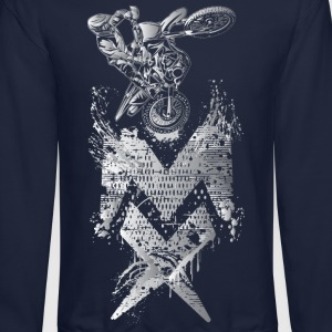 Wicked Motocross Shirts Long Sleeve Shirts - Crewneck Sweatshirt