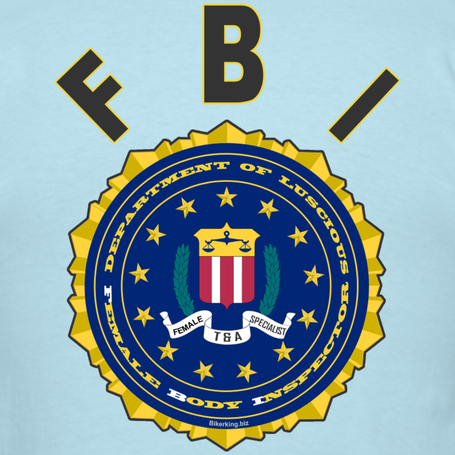 Men's Standard T Back- FBI