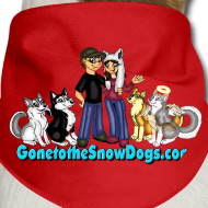Design ~ Snow Dogs Vlogs - Dog Bandanna