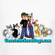 Design ~ Snow Dogs Vlogs - Women's Long Sleve