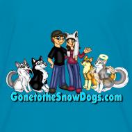 Design ~ Snow Dogs Vlogs - Kid's T-Shirt