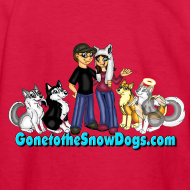 Design ~ Snow Dogs Vlogs - Kid's Long Sleeved