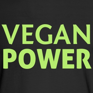Vegan Power Long Sleeve Shirts - Men's Long Sleeve T-Shirt