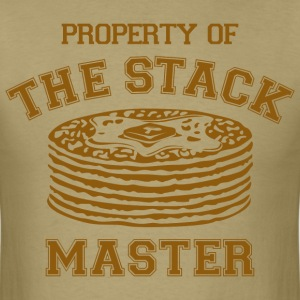 Property Of Stack Master T-Shirts - Men's T-Shirt