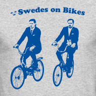 Design ~ Swedes On Bikes Long-Sleeve