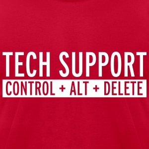 Tech Support  T-Shirts - Men's T-Shirt by American Apparel