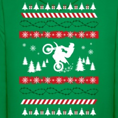 Ugly Christmas Motocross Hoodies