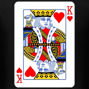 King Of Hearts Couple - Men's T-Shirt