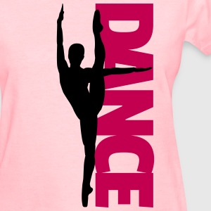 Dance Text Girl  Women's T-Shirts - Women's T-Shirt