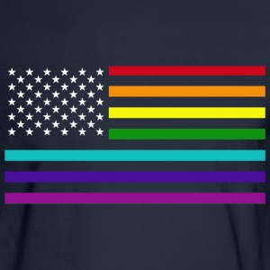 EQUALITY RAINBOW FLAG.png Long Sleeve Shirts - Men's Long Sleeve T-Shirt