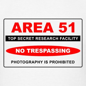 Area 51 Secret - Men's T-Shirt