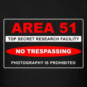 Area 51 Top Secret - Men's T-Shirt