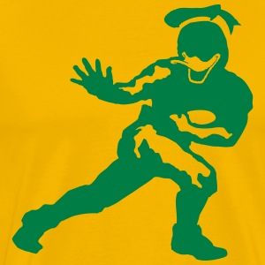 Duck Football T-Shirts - Men's Premium T-Shirt