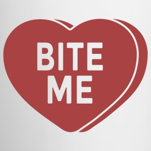 Bite Me Mugs & Drinkware - Coffee/Tea Mug