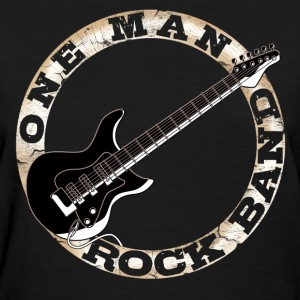 One Man Rock Band Women's T-Shirts - Women's T-Shirt