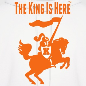 THE KING IS HERE Hoodies - Men's Hoodie