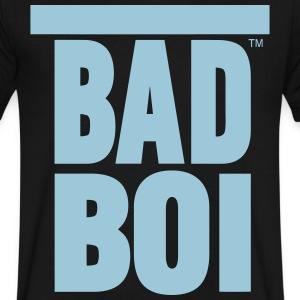 BAD BOI T-Shirts - Men's V-Neck T-Shirt by Canvas