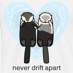 Sea Otters In Love T-Shirts