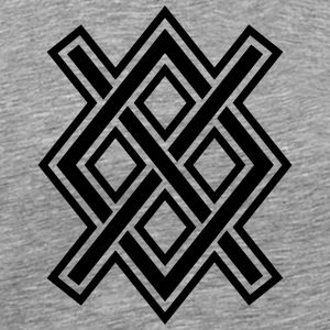 Gungnir, Odin's spear, Rune Gar, Viking, magic, T-Shirts - Men's Premium T-Shirt