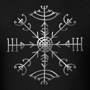 Veldismagn - Fortune & Protection Symbol, Iceland  - Men's T-Shirt