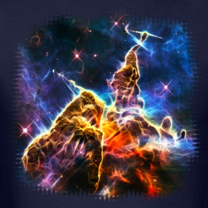 Mystic Mountain, Carina Nebula, Space, Galaxy, T-Shirts - Men's T-Shirt