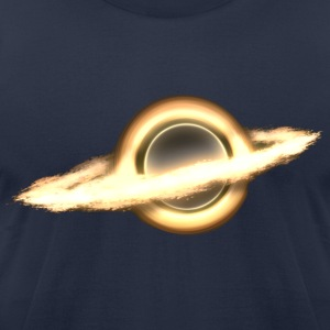 Black Hole, Infinity, Outer Space, Science Fiction T-Shirts - Men's T-Shirt by American Apparel