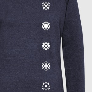 Winter is coming! Snowflake, Winter sports, Skiing Long Sleeve Shirts - Women's Wideneck Sweatshirt