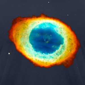 Helix Nebula, Eye of God, Aquarius, Space, Galaxy T-Shirts - Men's T-Shirt by American Apparel