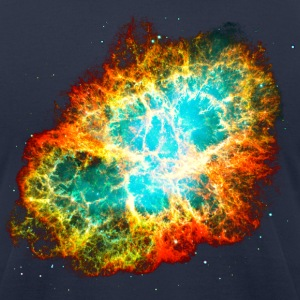Supernova, Crab Nebula, Space, Galaxy, Milky Way T-shirts - T-shirt pour hommes American Apparel
