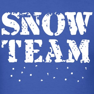 Snow Team, Winter Sports, Skiing, Snowboarding, T-shirts - T-shirt pour hommes