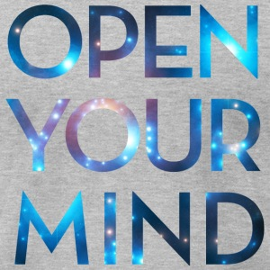 OPEN YOUR MIND, Outer Space, Universe, Galaxy T-shirts - T-shirt pour hommes American Apparel