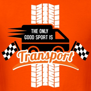 The only good Sport is Transport T-Shirts - Men's T-Shirt