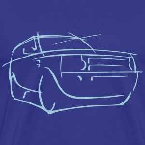 LAND ROVER LR3 CONCEPT - Men's Premium T-Shirt